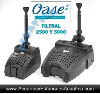 OASE FILTRAL 2500 FILTRO ESTANQUE UVC