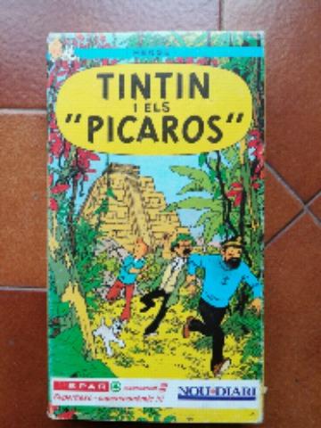 TINTÍN Y LOS PÍCAROS VHS