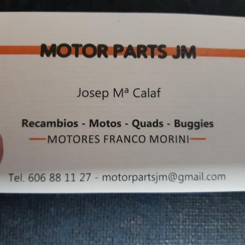 MOTORES FRANCO MORINI S6-C Y RECAMBIOS