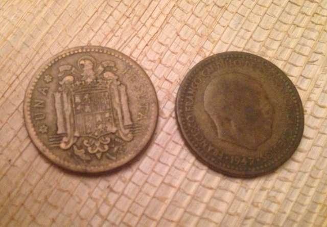 Peseta 1947 La Rubia Y Otras