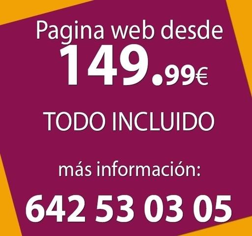 PRESUPUESTO DISEÑO PAGINA WEB EN OURENSE