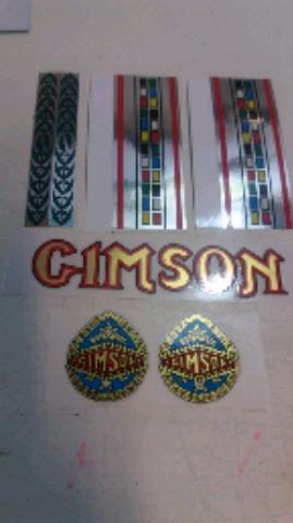 GIMSON, CALCAS, ANTIGUAS, VARILLAS