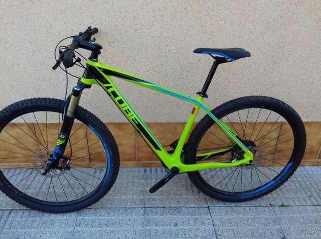 BICI MONTAÑA CUBE REACTION GTC SL 29