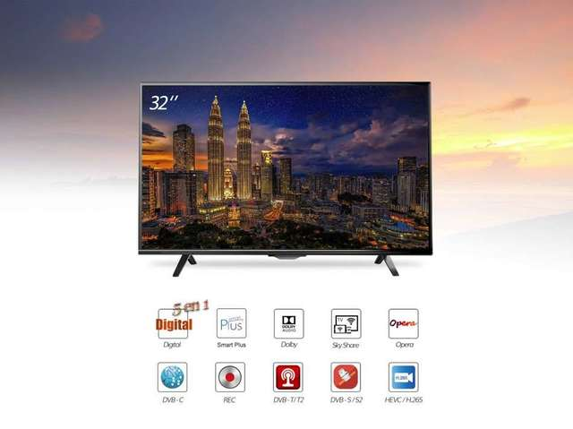 43 PULGADAS 4K ULTRA HD LED SMART TV CON