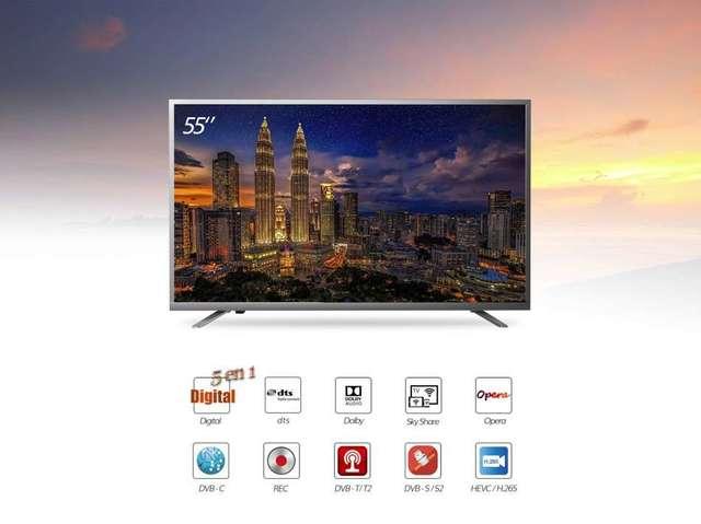 55 PULGADAS 4K ULTRA HD LED SMART TV CON