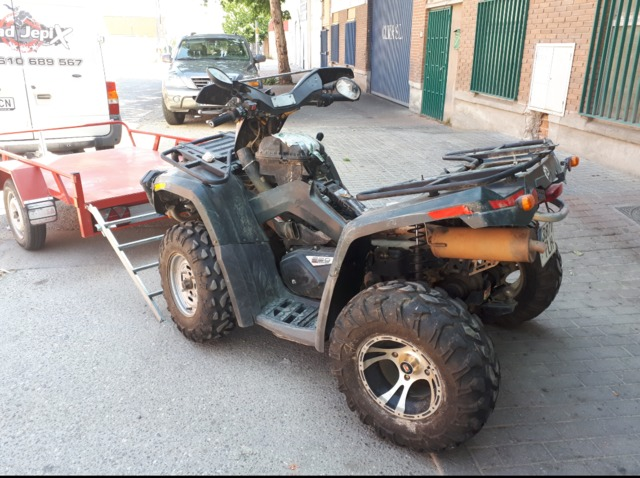 DESPIECE CAN-AM - OUTLANDER 650 I