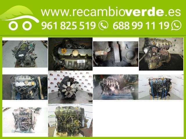 MOTOR COMPLETO VANETTE TIPO LD23A