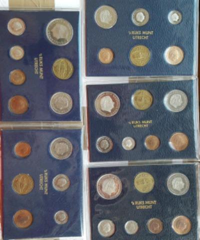 Cambio Estuches Monedas Holanda Proof