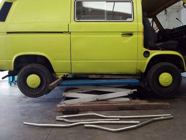 VW Bus Bulli T2 T3 Acero Inox Tubo Agua Fría Pipas de 1,9 2,1 Gasolina desde 85