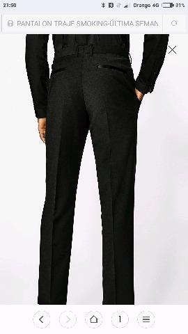 el pantalon de zara negro