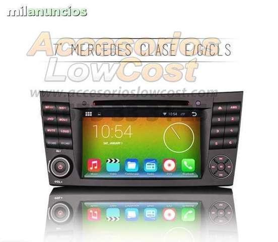 RADIO GPS ANDROID MERCEDES CLASE E W211