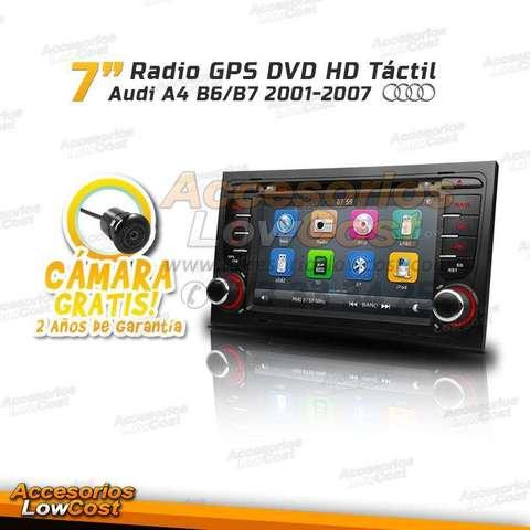 RADIO DVD TÁCTIL GPS DOBLE 2DIN AUDI A4
