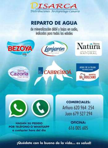 REPARTO DE AGUA A DOMICILIO - foto 1