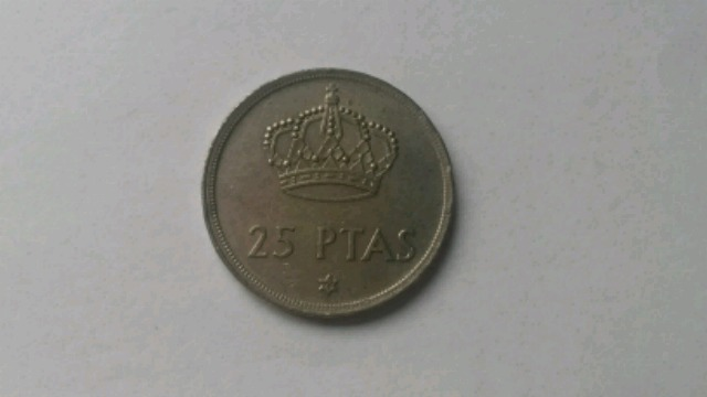 Moneda 25 Pesetas 1975