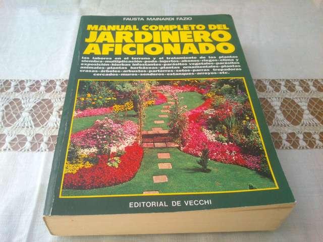 Usado, LIBROS DE JARDINERIA segunda mano  Coín