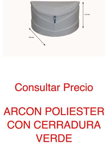 ARCÓN DE POLIÉSTER CAJON