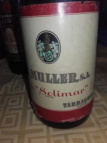 Antiguas Botellas Vino