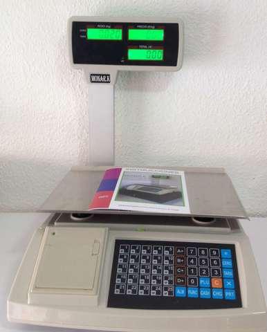 SRFL353-BALANZA VISORES LCD TICKET NUEVA