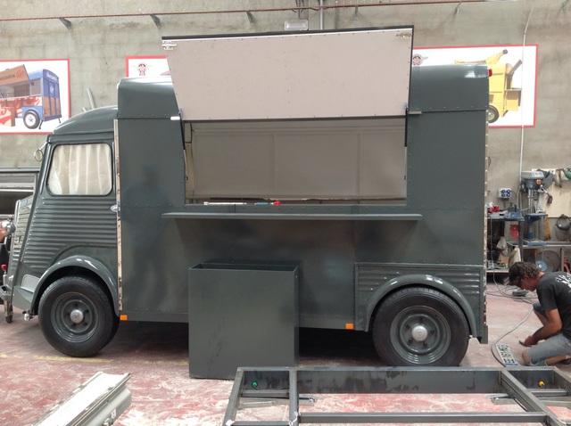FOOD TRUCK HOMOLOGADO - COLOR ORIGINAL DE EPOCA - foto 6