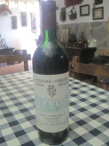 Vega Sicilia Valbuena 3º Año De 1987