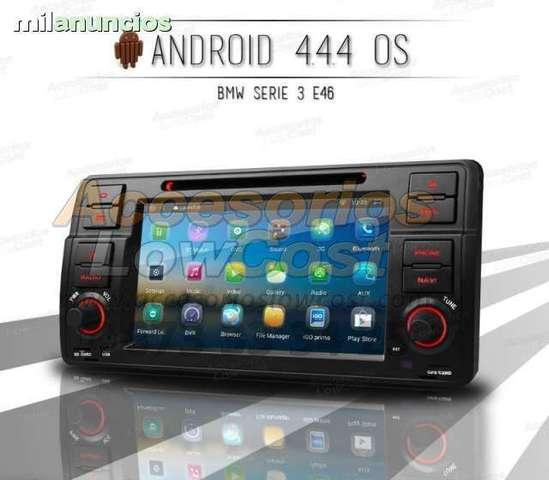 RADIO GPS DVD ANDROID 2 DIN BMW E46