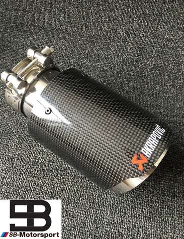 EMBELLECEDOR ESCAPE AKRAPOVIC CARBONO