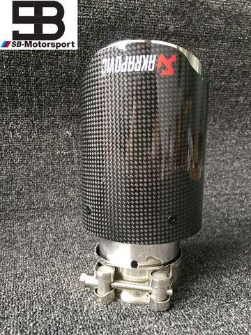 - TUBO ESCAPE AKRAPOVIC CARBONO