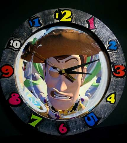 Toy Story - Reloj De Pared
