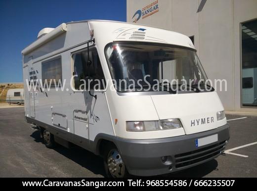 HYMER B584 - CARAVANAS SANGAR