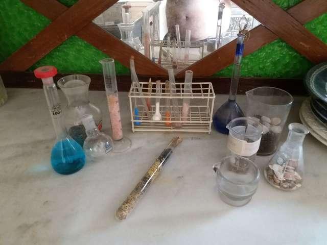 Lote Instrumentos Quimicos