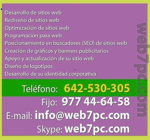 DONDE CREAR PAGINAS WEB EN HUESCA
