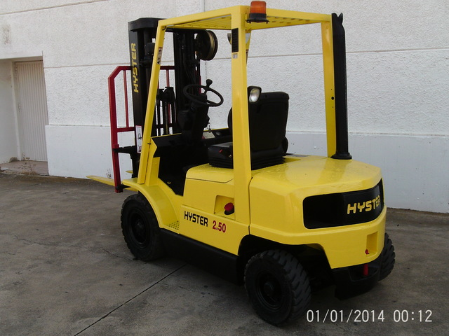 MATRICULADA HYSTER XM 2. 50