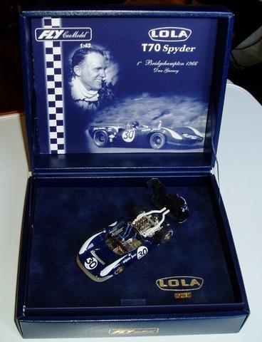 Lola T70 Mk2 Ford Dan Gurney (1/43)