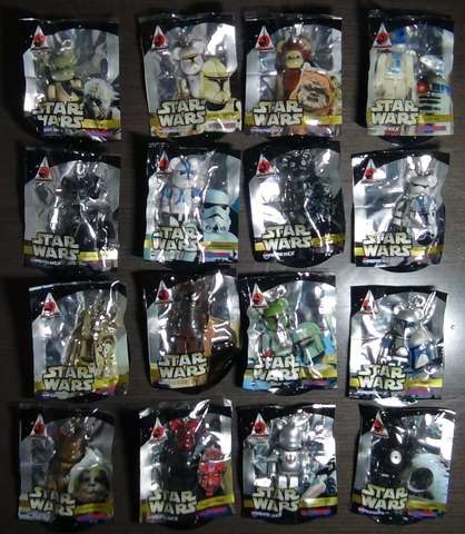 Pepsi Nex Star Wars 16 Figuras Bearbrick