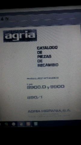 AGRIA 8900. D Y 9900