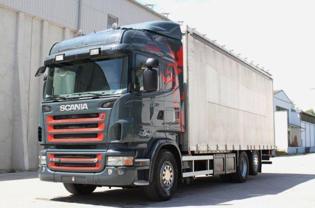 SCANIA - R500 6X2 LONA 7700MM