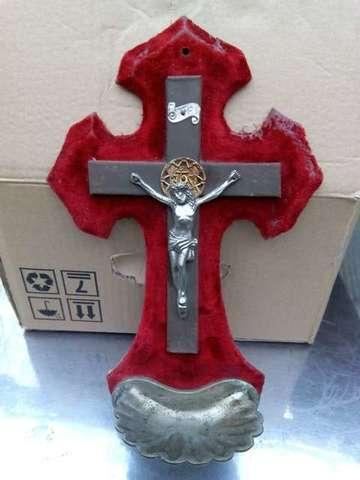 Crucifijo De Los Años 50