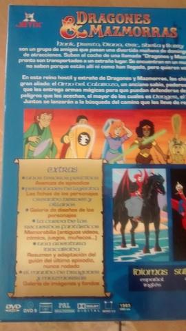 DRAGONES & MAZMORRAS. SERIE COMPLETA. DVD - foto 2