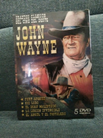 5 PELICULAS DVD DE JHON WAYNE (SIN USO) - foto 1