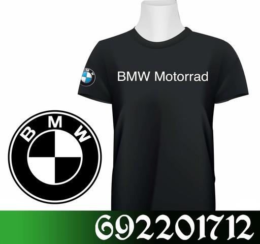 BMW MOTO CAMISETA DE ALGODÓN POLIÉSTER