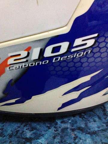 VENDO CASCO DE SHIRO DE CARBONO XL - foto 3
