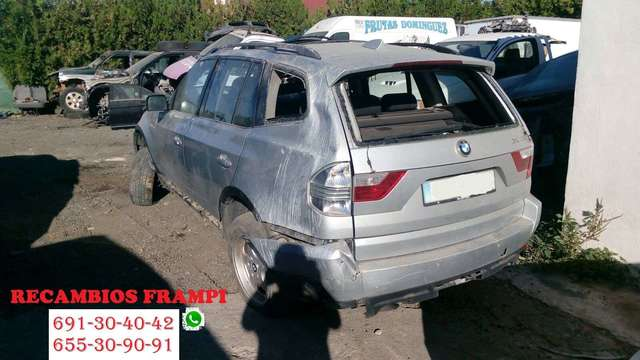 DESPIECE COMPLETO BMW X3 AÑO 2007, E83