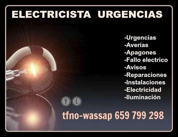 ELECTRICISTA URGENCIAS 659799298
