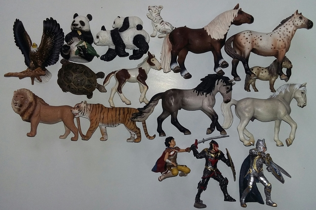 PVC SCHLEICH PLASTOY COLLECTA ANIMAL