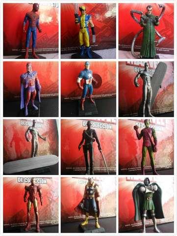 Figuras Marvel De Plomo