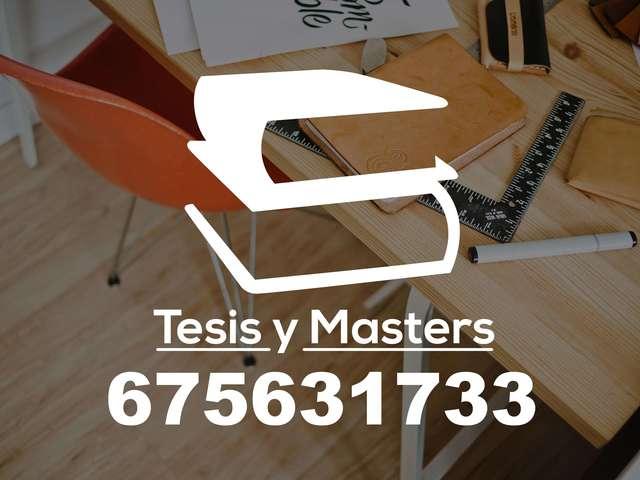 MASTERS Y TESIS