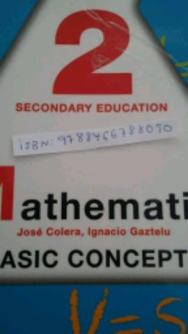 2ESO MATHEMATICS BASIC CONCEPTS