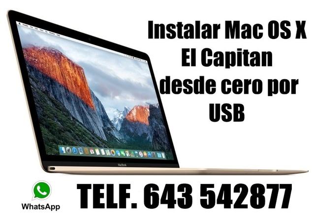 USB INSTALACIÓN MAC OSX EL CAPITAN - foto 1