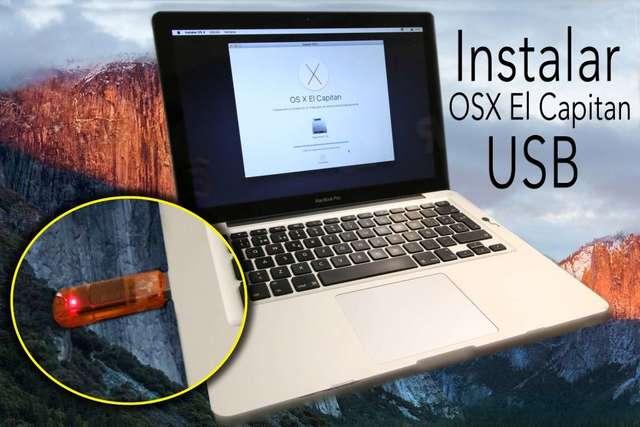 USB INSTALACIÓN MAC OSX EL CAPITAN - foto 3