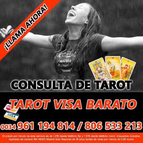 VIDENTES DE FIAR TAROT CLARO BUENO VISA